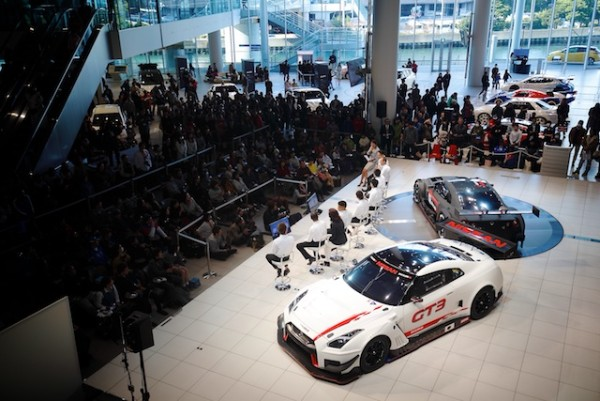 NISSAN/NISMO SUPER GT ACES MEET THE FANS AT GLOBAL HQ