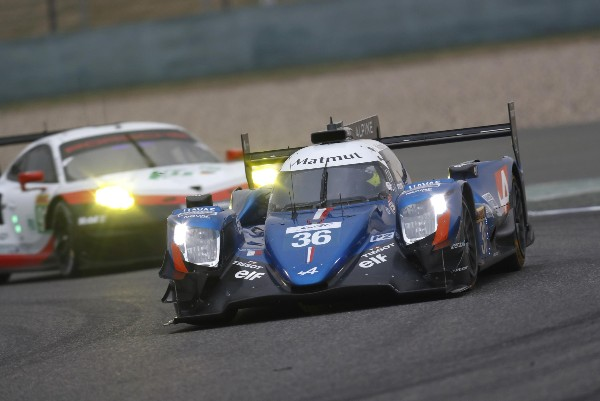 SIGNATECH ALPINE MATMUT RARING TO GO FOR THE FIA WORLD ENDURANCE CHAMPIONSHIP