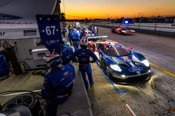 12 HOURS OF SEBRING: GTLM TITLE PROVES ELUSIVE FOR THE FORD GT