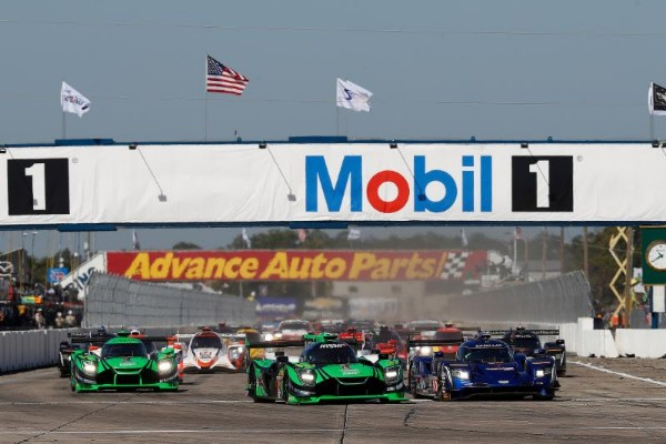 ACURA, CORVETTE AND AUDI LEAD RESPECTIVE CLASSES AT FOUR-HOUR MARK IN 12 HOURS OF SEBRING