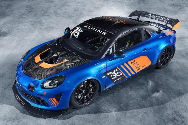 ALPINE UNVEILS GT4 RACING CAR DEVELOPED BY SIGNATECH