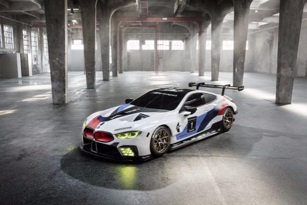 BMW MOTORSPORT DESIGNER MICHAEL SCULLY ON THE NEW BMW M8 GTE