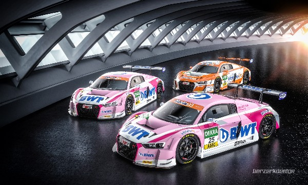 BWT MUCKE MOTORSPORT WILL LINE UP WITH THREE AUDI R8 LMS FOR THEIR SECOND ADAC GT MASTERS SEASON