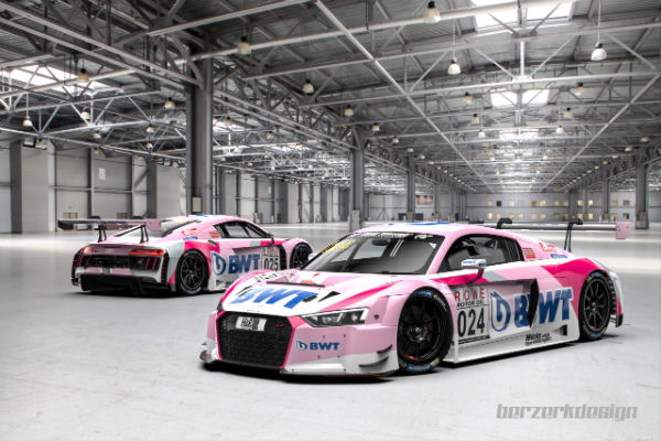 BWT MUCKE MOTORSPORT WILL RACE FOR AUDI SPORT IN THE NURBURGRING 24 HOURS