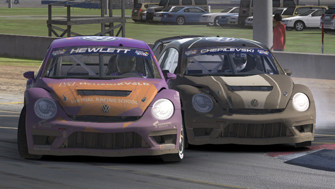 Red Bull GRC TV // iRacing #DIRTNight: Red Bull GRC at Iowa (3)
