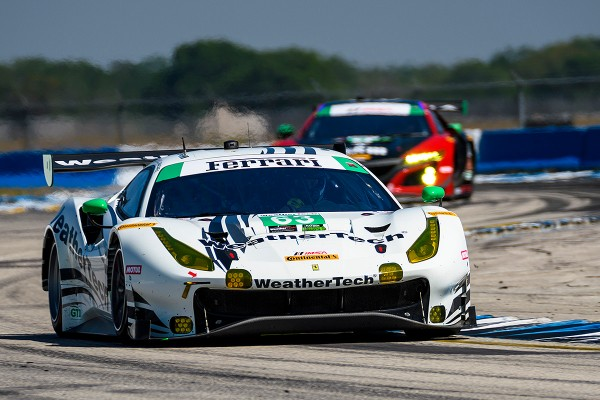 FERRARI ON SEBRING 12 HOUR PODIUM