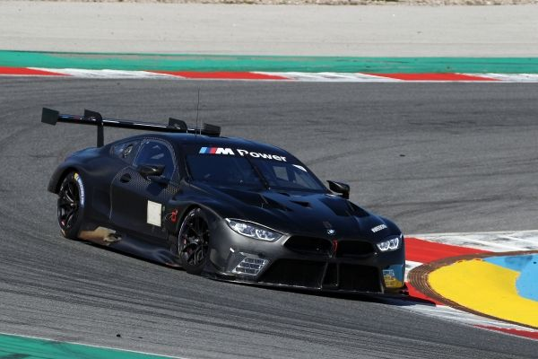 FINAL TEST FOR THE BMW M8 GTE BEFORE THE WEC PROLOGUE AT LE CASTELLET
