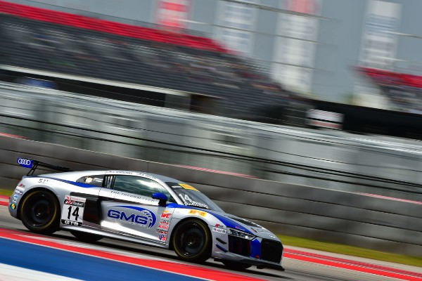FIRST VICTORY FOR THE AUDI R8 LMS GT4 IN THE UNITED STATES