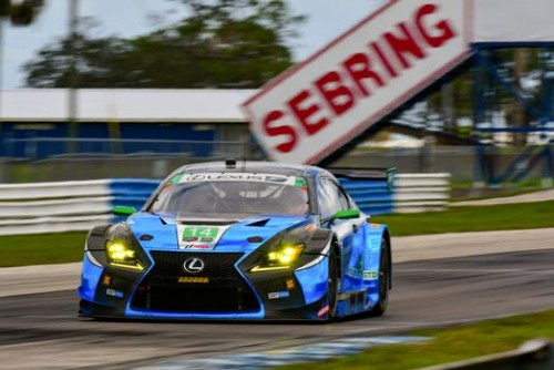 LEXUS RC F GT3s RETURN TO SEBRING FOR 12 HOUR ENDURANCE EVENT