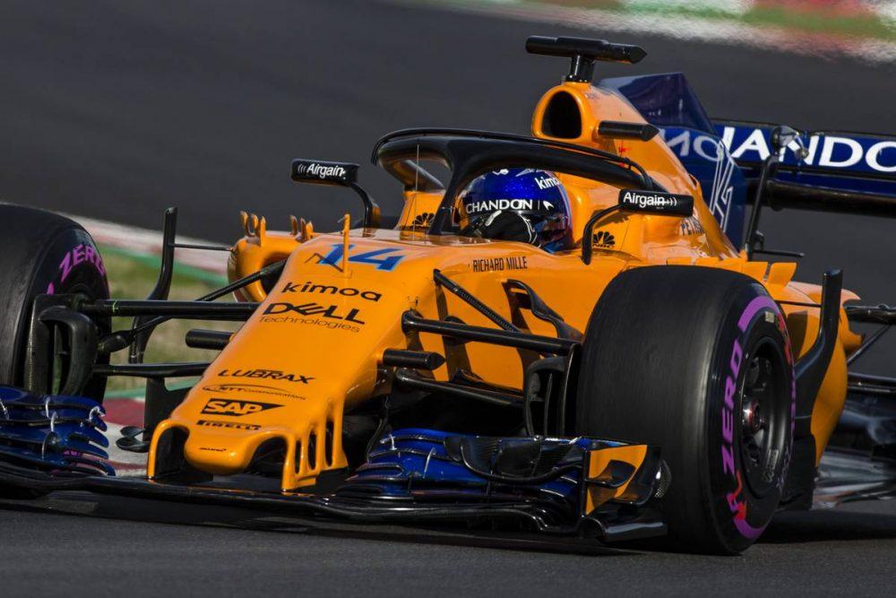 Motorsport: McLaren not bothered by Toro Rosso showing