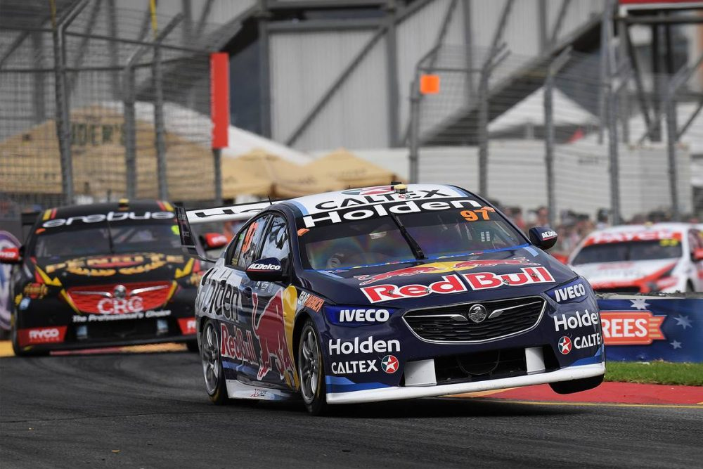 Shane van Gisbergen's title bid spurred on by early success
