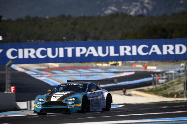 PLEASING START TO PRE-SEASON BLANCPAIN ENDURANCE CUP TEST AT PAUL RICARD FOR AL HARTHY AND OMAN RACING