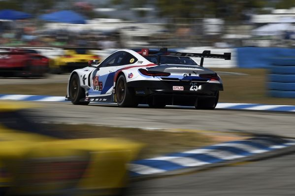 SIMS SECURES FIRST PODIUM IN THE NEW BMW M8 GTE AT THE 12 HOURS OF SEBRING