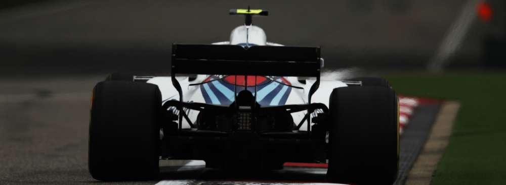 Williams Chinese Grand Prix Practice