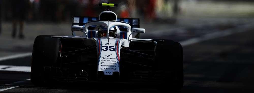 Williams Stroll Bahrain Grand Prix Qualifying