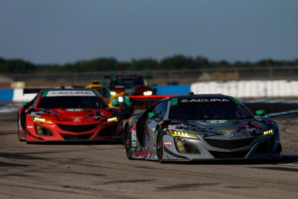 ACURA SPORTS CAR CHALLENGE AT MID OHIO-ENTRY LIST NOTEBOOK