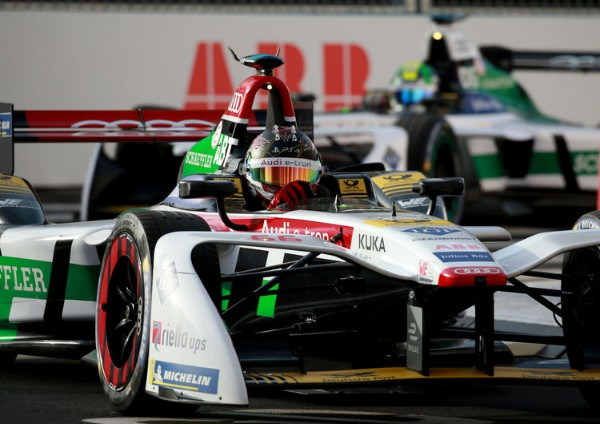 AUDI IN FORMULA E: THROUGH THE CITY OF LOVE WITH ELECTRIC POWER