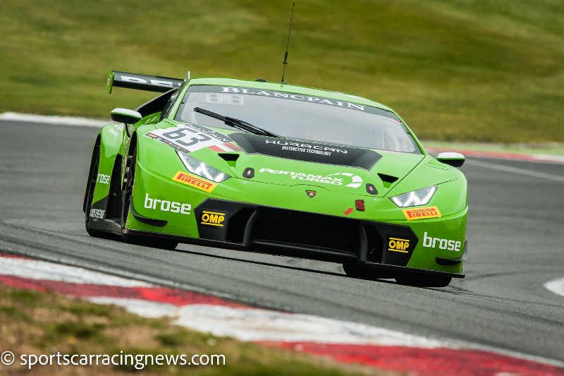 BLANCPAIN GT SERIES GATHERS MOMENTUM WITH BRANDS HATCH DOUBLE-HEADER