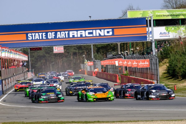 BORTOLOTTI AND ENGELHART BEGIN BLANCPAIN GT SERIES TITLE DEFENCE IN PERFECT FASHION WITH ZOLDER VICTORY FOR GRASSER-LAMBORGHINI