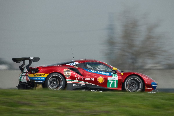 FERRARI COLLECT USEFUL DATA AT THE WEC PROLOGUE