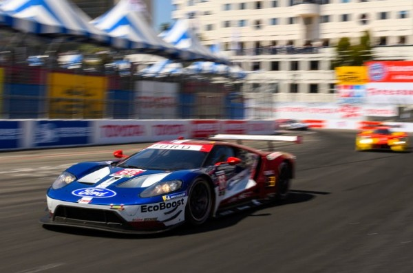 FORD CHIP GANASSI RACING EARNS A DOUBLE PODIUM FINISH AT LONG BEACH