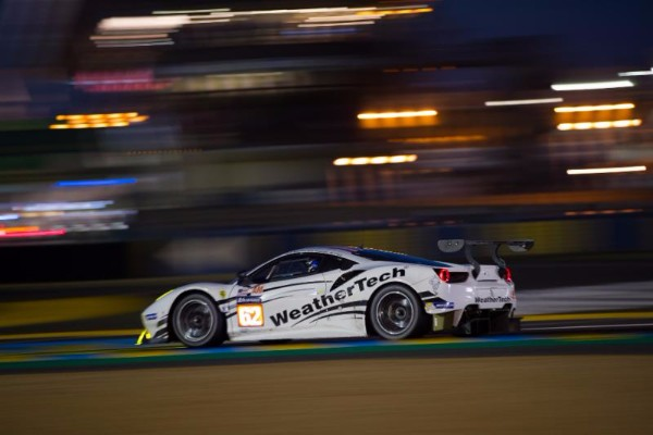 JMW MOTORSPORT AND WEATHERTECH FOR LE MANS 24 HOURS