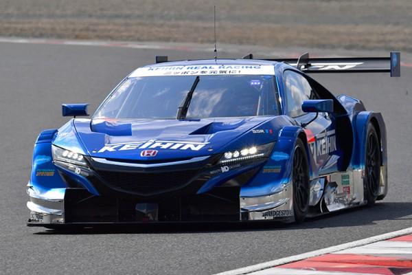 KEIHIN NSX-GT WINS SUPER GT BATTLE WITH FELLOW NSX-GT AT OKAYAMA