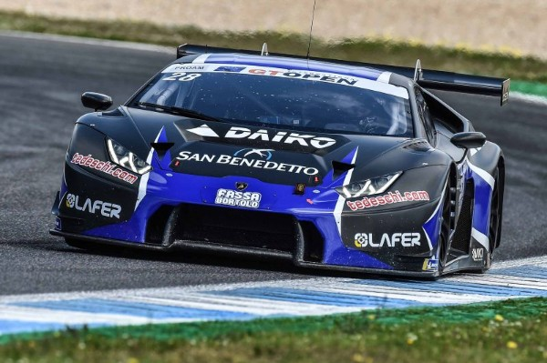 LAZARUS TOPS FRIDAY'S GT OPEN FREE SESSIONS AT ESTORIL
