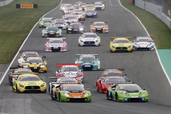 ONE-TWO VICTORY FOR LAMBORGHINI IN SECOND RACE OF THE ADAC GT MASTERS