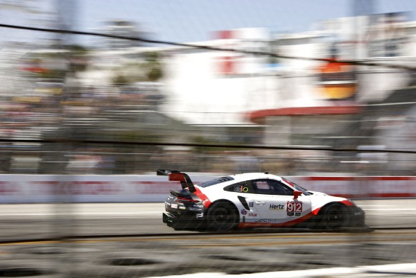 STRONG PERFORMANCE FOR PORSCHE GOES UNREWARDED AT LONG BEACH