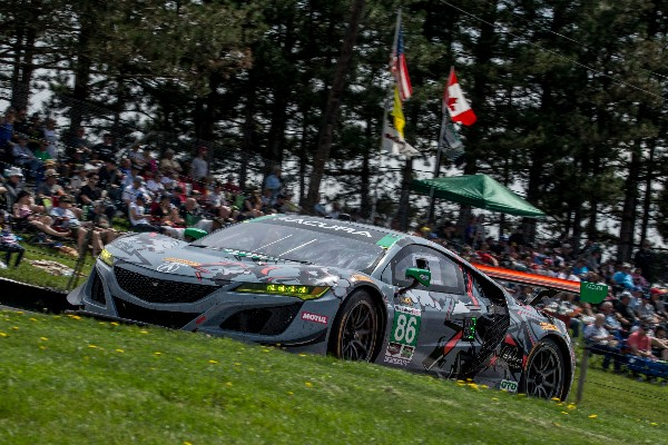 SECOND PLACE FINISH FOR MEYER SHANK RACING AT MID-OHIO