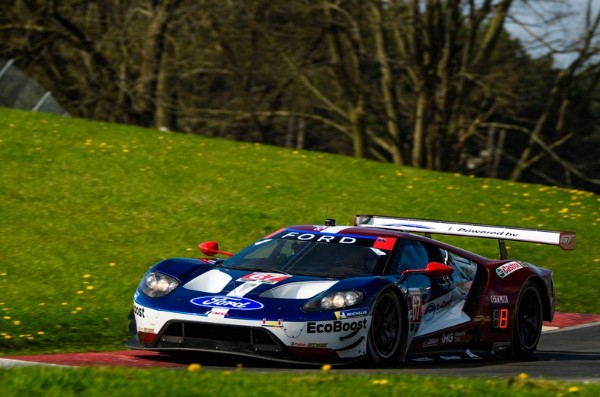 STRONG STRATEGY, DRIVING PUT FORD CHIP GANASSI RACING IN PODIUM CONTENTION AT MID-OHIO