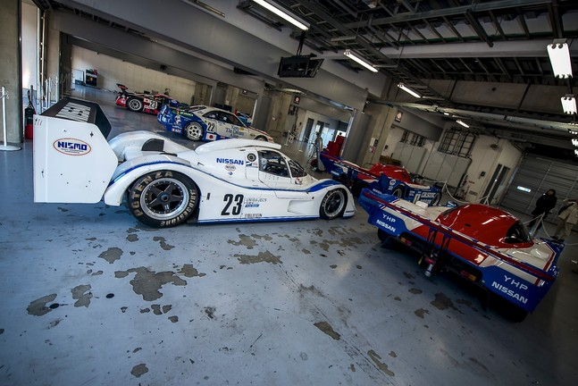 Historic Nissan racing cars