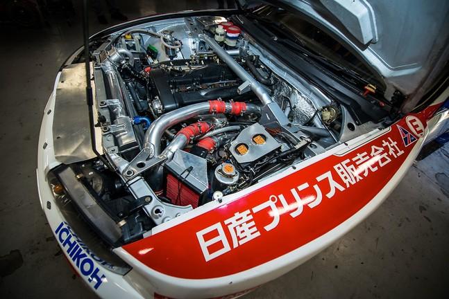 Engine bay Nissan