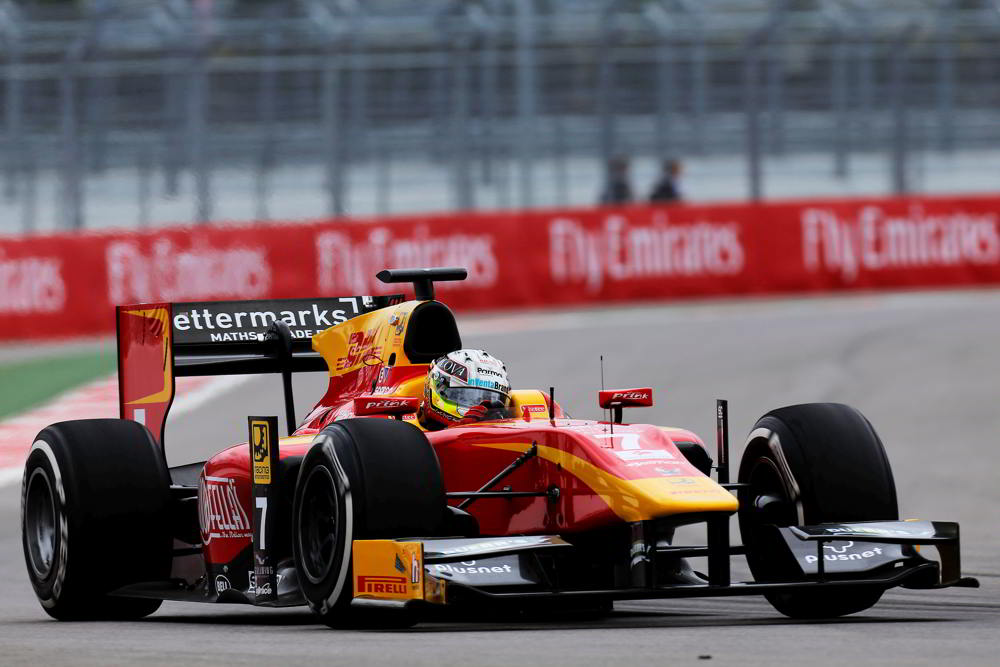 Racing Engineering and DHL preview Bahrain 2015 GP2