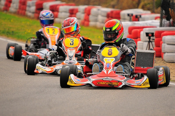 MARANELLO KART AND GERARD CEBRIAN  WIN THE CHAMPIONS CUP IN VENDRELL