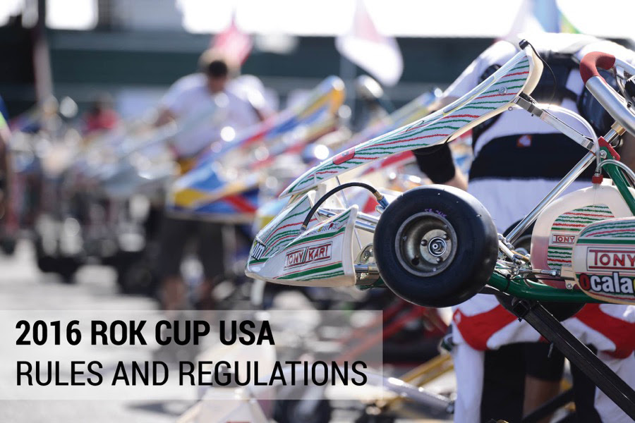 ROK CUP USA RELEASES 2016 RULE BOOK WITH SEVERAL MAJOR CHANGES FOR THE UPCOMING RACE SEASON