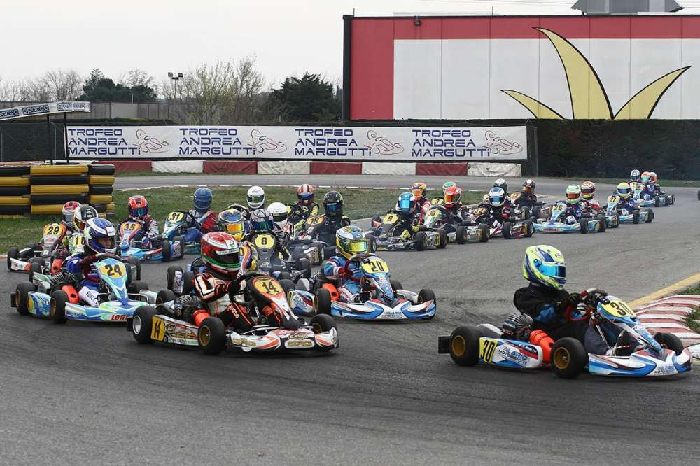 THE NEW EDITIONS OF THE ANDREA MARGUTTI TROPHY AND  TROFEO DELLE INDUSTRIE OF 2016 AT SOUTH GARDA KARTING