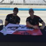 M1 GT Racing and Drivers Secure Top Two Spots autograph signing