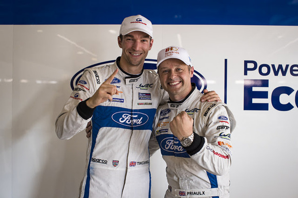 Celebrations for the Ford team