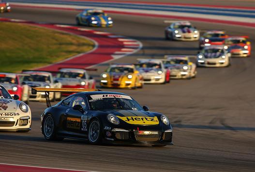 2015 Porsche GT3 Cup USA Austin