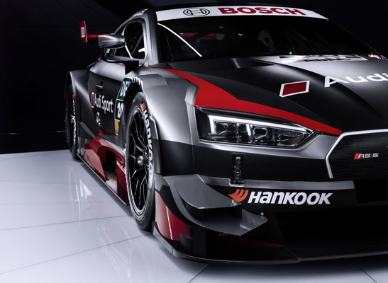 The new Audi RS 5 DTM front