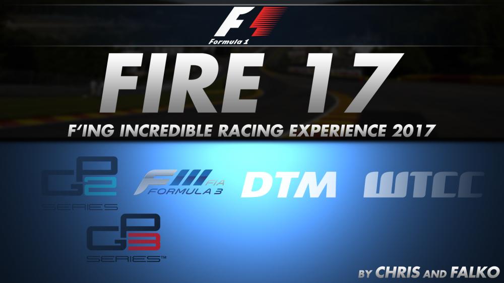 Fire 2017 F1, F2 F3