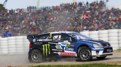 KRISTOFFERSSON TOPS QUALIFYING