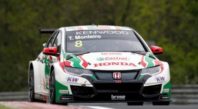 Tiago Monteiro looking for revenge in the green hell of Nordschleife