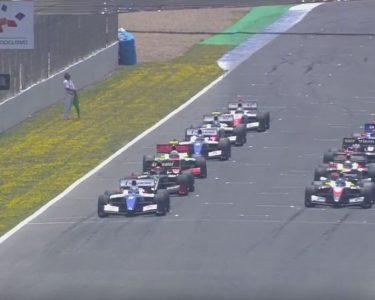 race start race 1 jerez