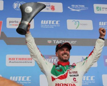 Double podium for Tiago Monteiro in Vila Real