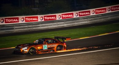 Crash takes Jimmy Eriksson out of 24 Hours of Spa
