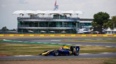 POINTS JUST OUT OF REACH FOR DAMS IN GP3 AT SILVERSTONE