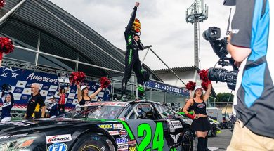 Kumpen Wraps Up NASCAR's German Stop